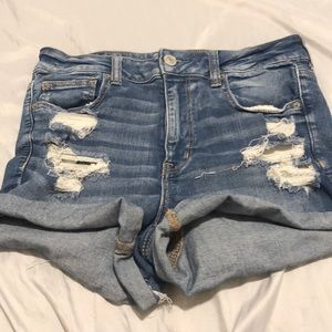 American eagle distressed shorts size 12